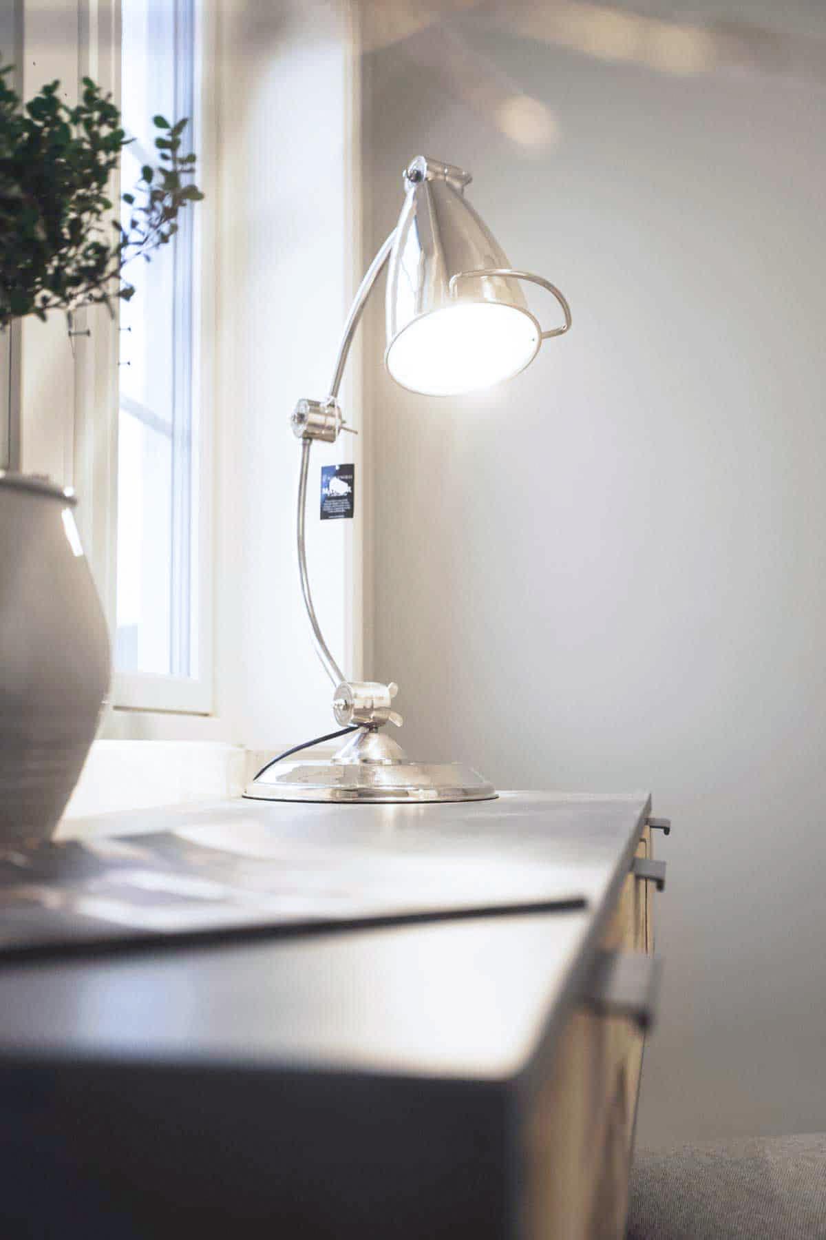 bordlampe interiør design