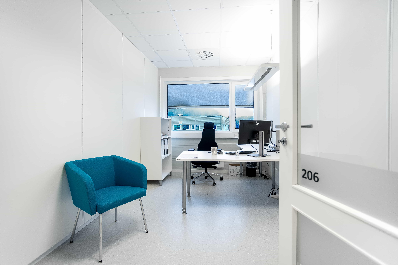 Designer stol på kontor